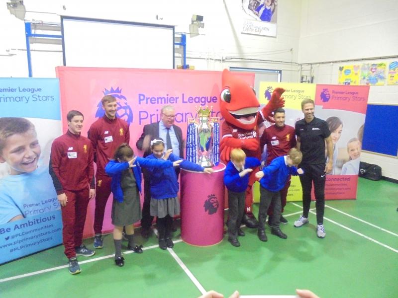 Premier league visit fantastic visit florence melly community