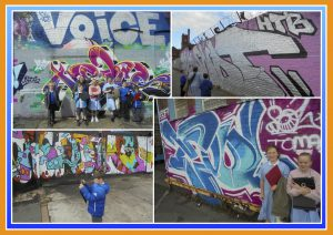 Exploring Street Art in Liverpool – Graffiti on Grafton Street - May 2017