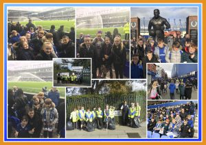Litter Picking and Goodison Park - October 2017