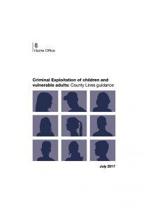 Criminal Exploitation of children and vulnerable adults- County Lines guidance