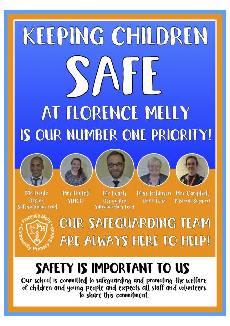 Entrance Safeguarding Poster