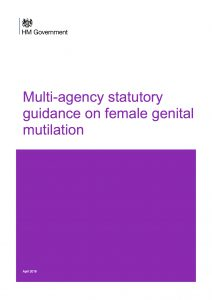 Multi-agency statutory guidance on female genital mutilation