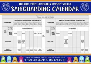 Safeguarding Calendar Autumn Term