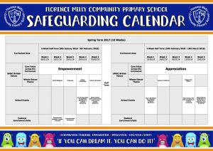 Safeguarding Calendar Spring Term