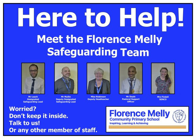 Safeguarding Poster 3 - Here to Help!