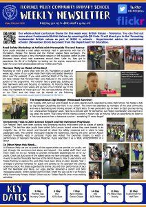 Newsletter 27-04-18